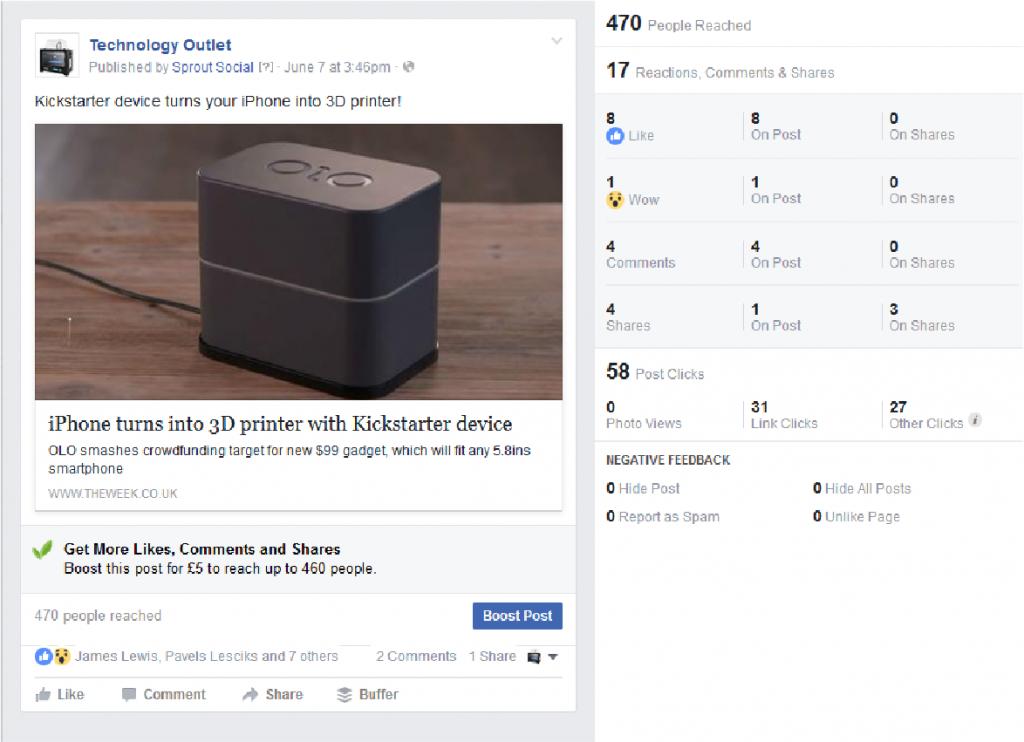 facebook curation