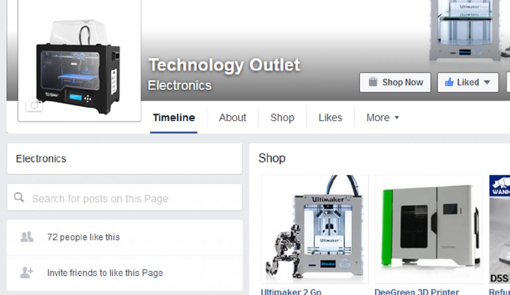 tech outlet facebook