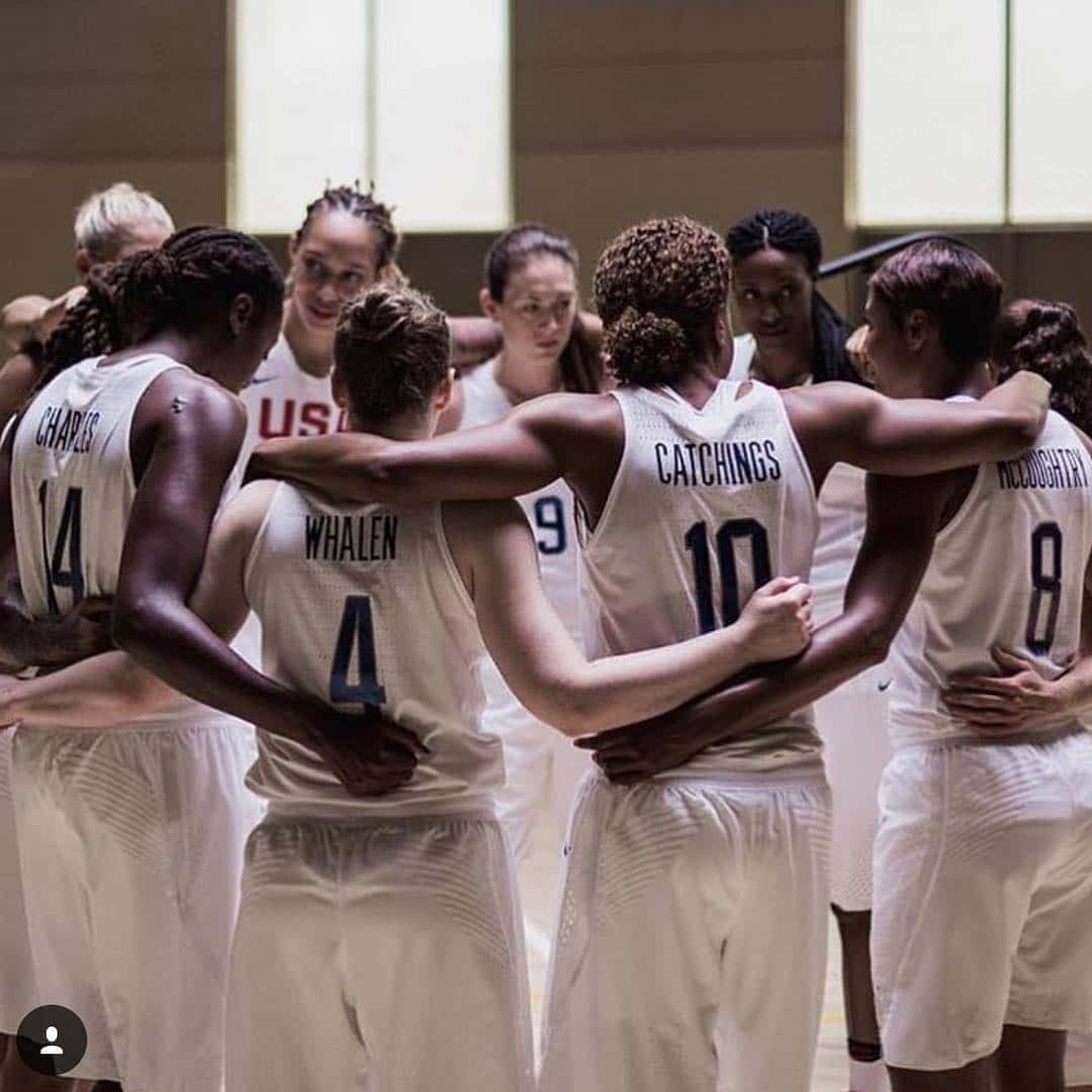 USA female basketball team