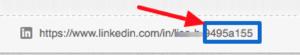 unoptimized linkedin url