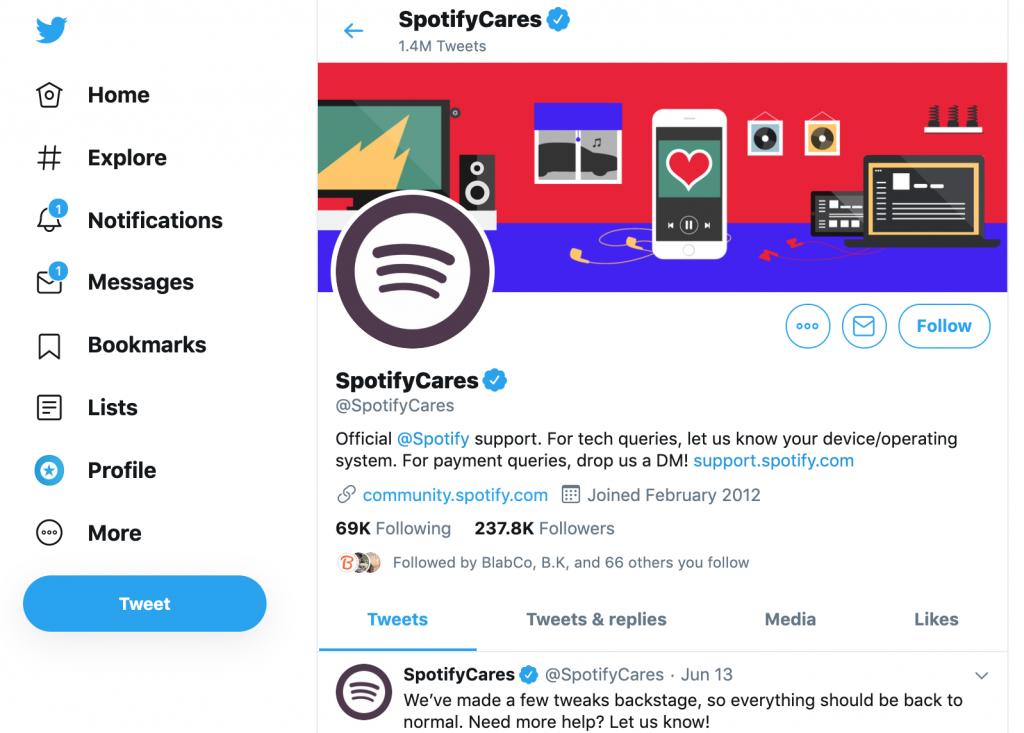 social-customer-service-spotify-cares