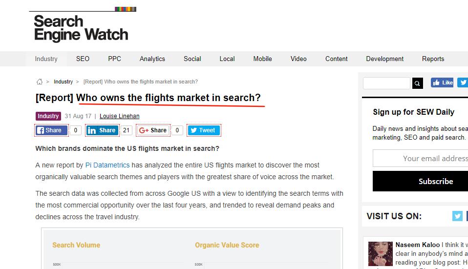 great headlines help to increase website traffic