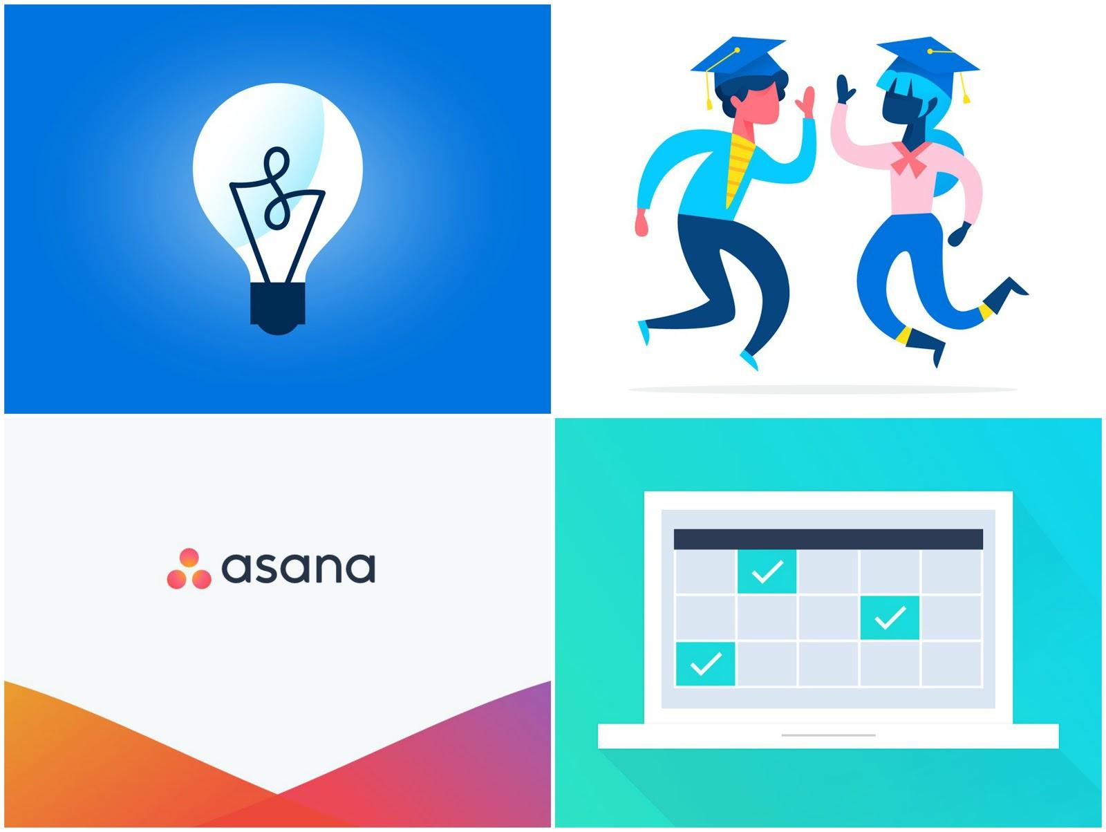 Asana social media design hacks