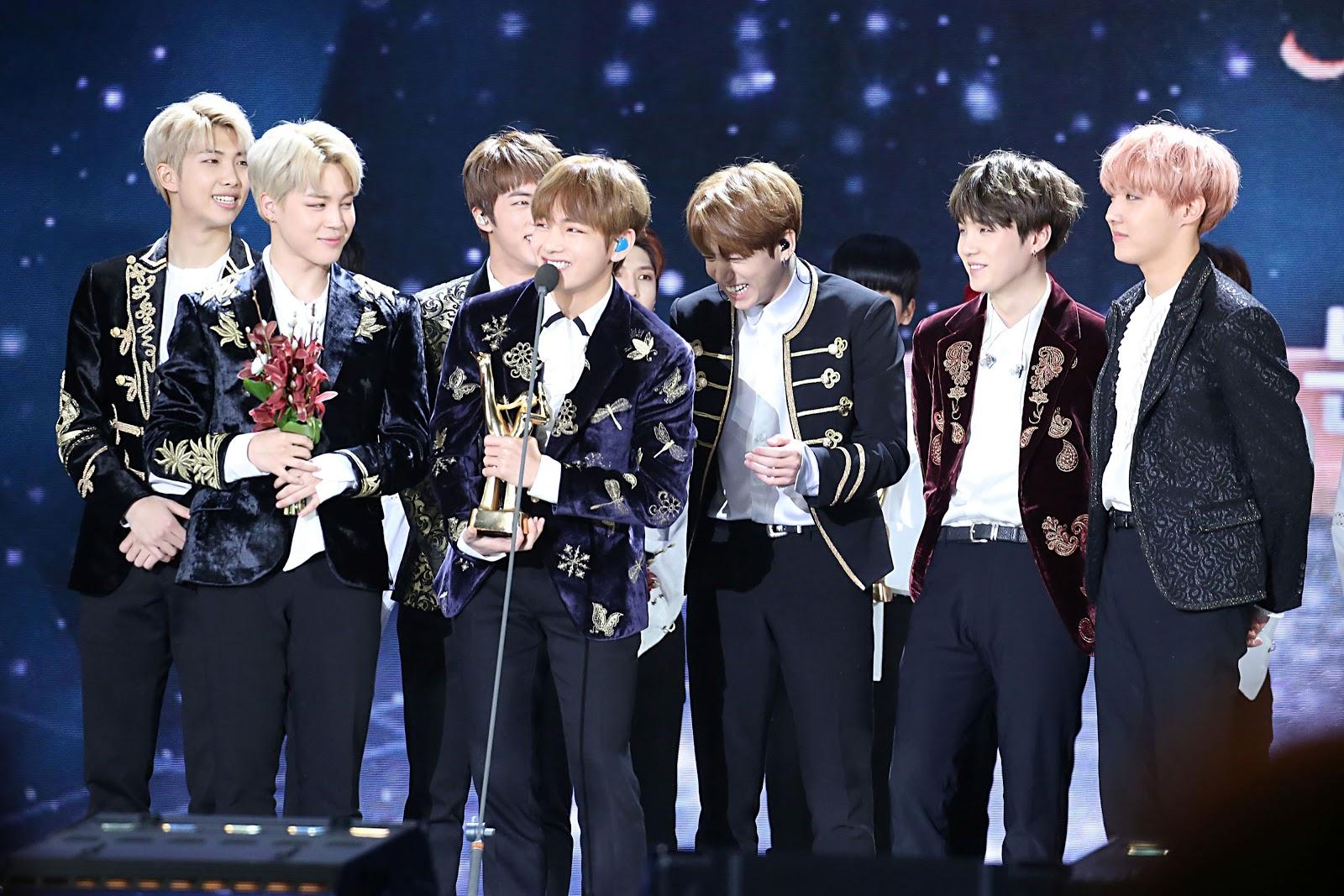 BTS at the 31st Golden Disk Awards
