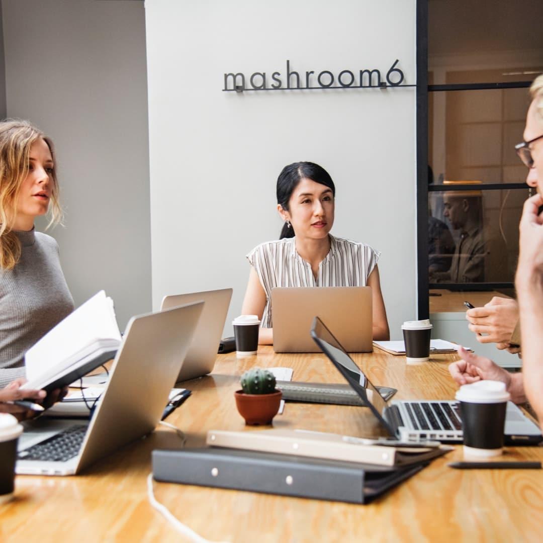 Reputation management for sales teams