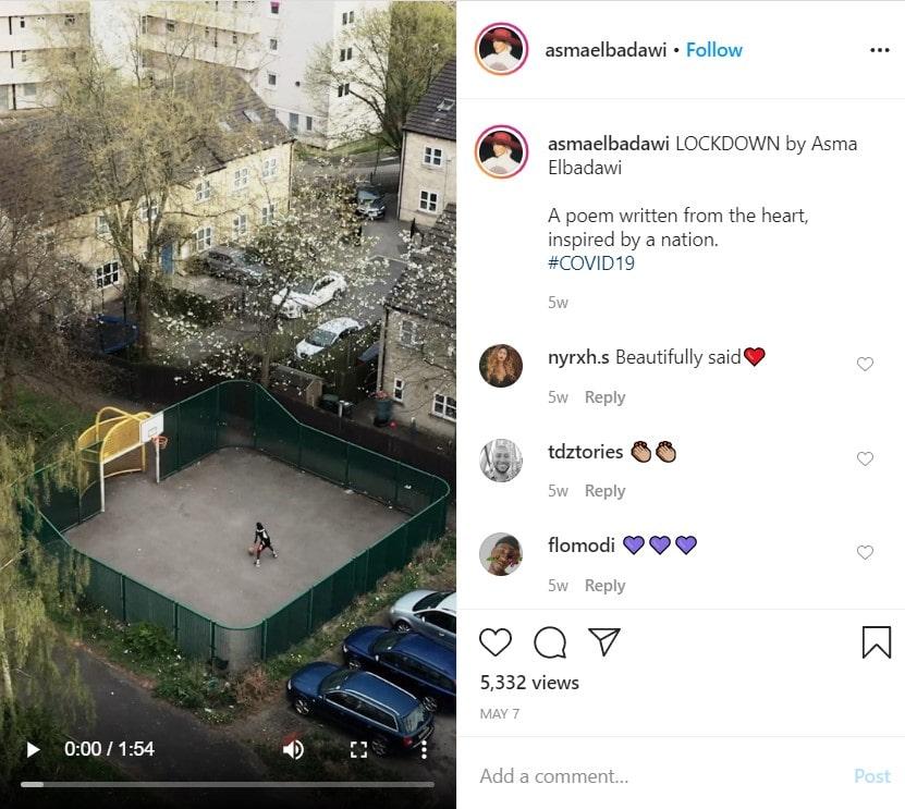 Asma Elbadawi Lockdown