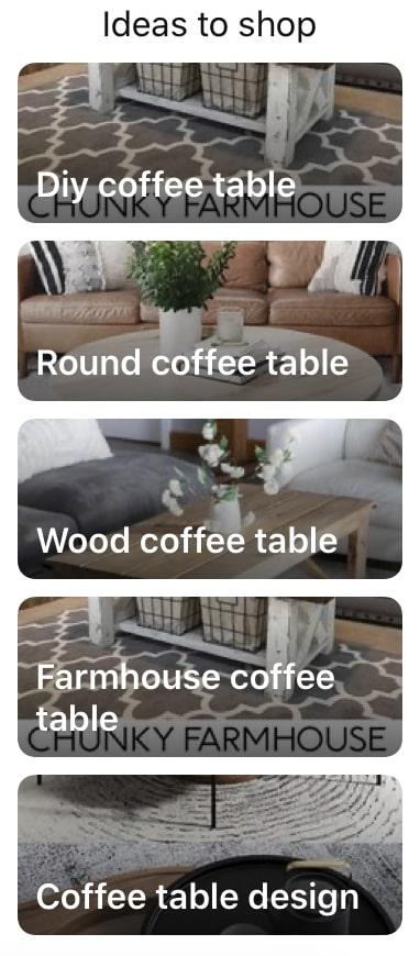 Keyword coffee table ideas on pinterest